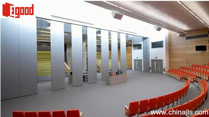 Chennai India Sliding Folding Partition Wall Project