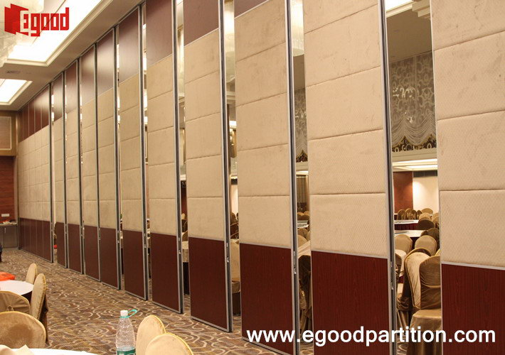 JinHai hotel movable partition wall room divider in bnaquet hall