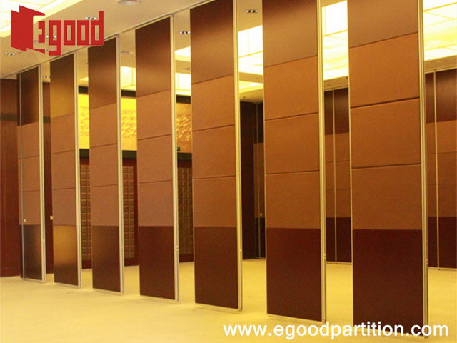 Acoustic movable partition wall system china egood for Movable partition wall systems