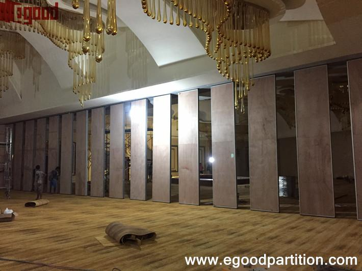 Avenra garden hotel movable wall partition China Egood operable
