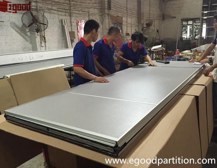 mdf melamine movable partition wall