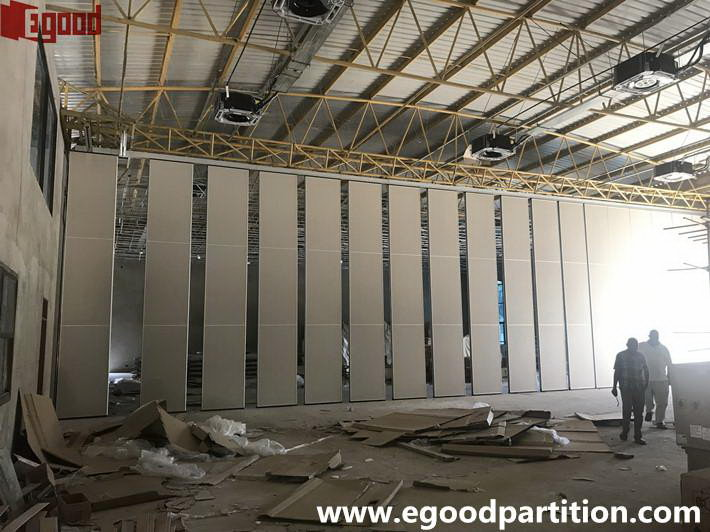 outer Appearance of the movable partition wall system