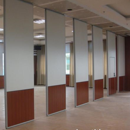People's Bank of China sliding folding partition project
