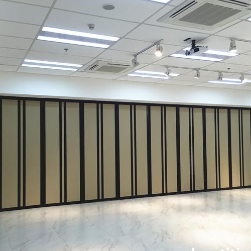 Assumption college San Lorenzo Function room Acoustic operable wall partition project in Philippines