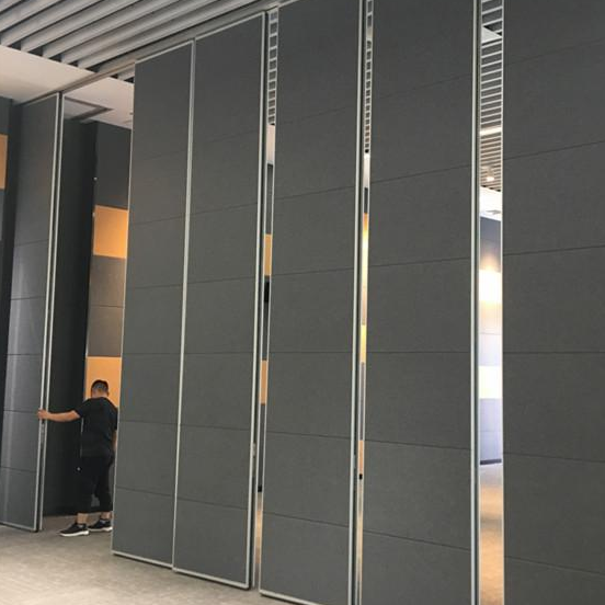 Shunde Lighting Industrial Convention center Acoustic sliding folding wall partition project
