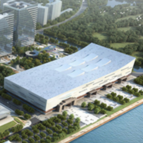 Warm congratulation on Large Project: Fuzhou Digital China Convention and Exhibtion centre completion acception
