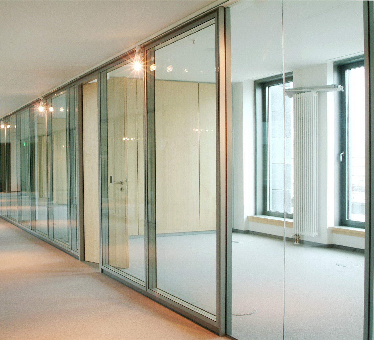Egood Type108  office glass partition wall