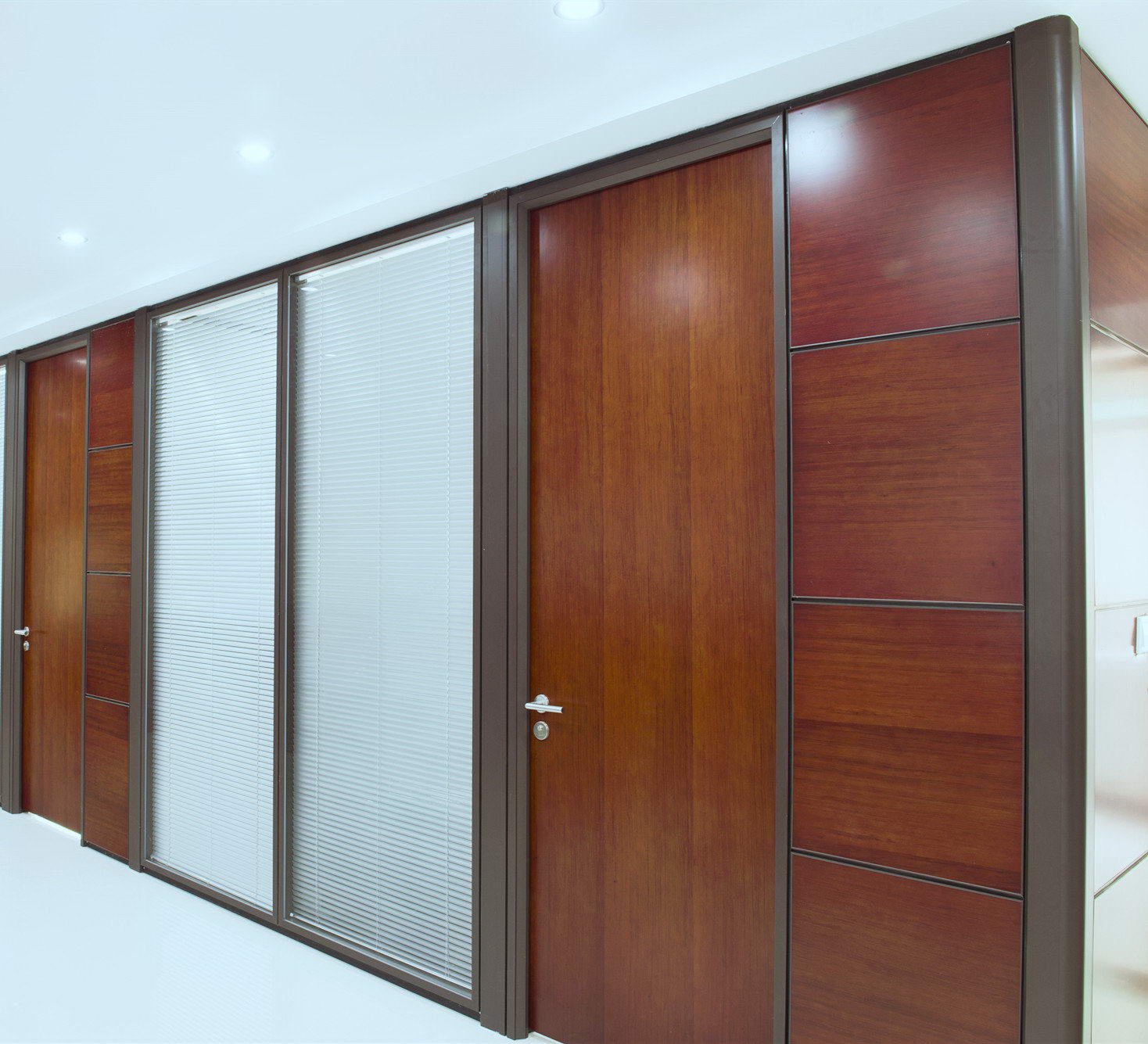 Type 90 office glass partition wall