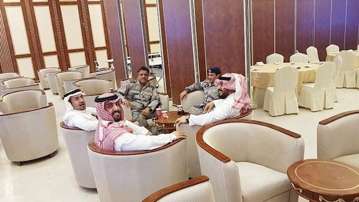 Saudi Border Guards,Prince Mohammed bin Nayed Academy,Egood partition