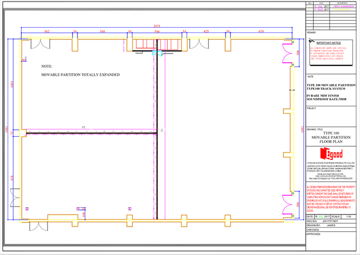 plan,movable partition