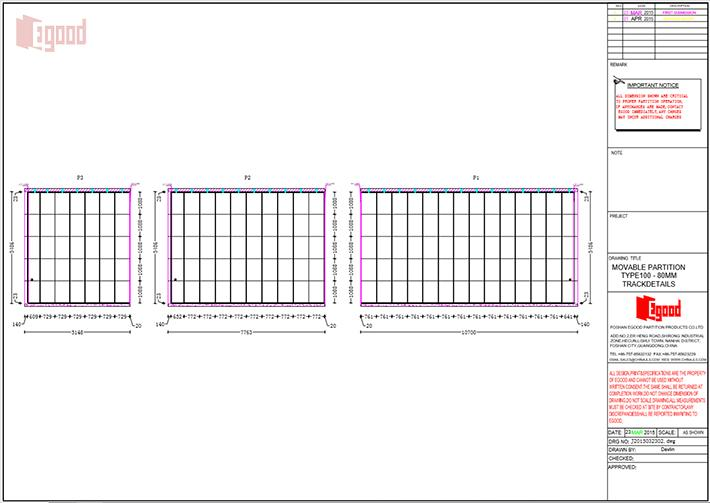 design drawings,movable partition