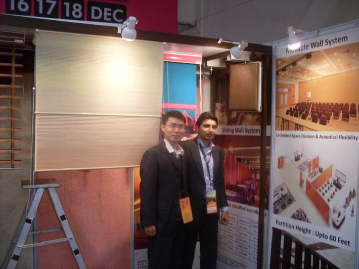 Egood operable partition walls company representative in ace fair
