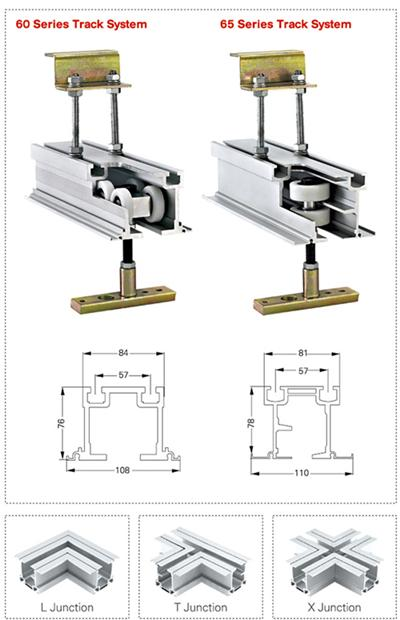 Egood Operable Walls Track System For Operable Walls